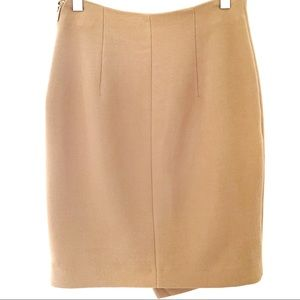 H&M Skirts - H&M | Pencil skirt asymmetric camel 6